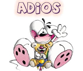 Watch and share Adios animated stickers on Gfycat