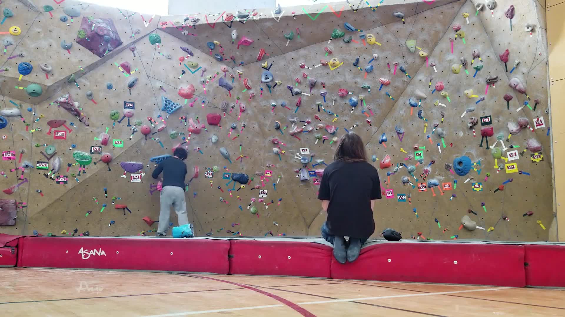Bouldering, Day 6 on v3, losing hope GIFs