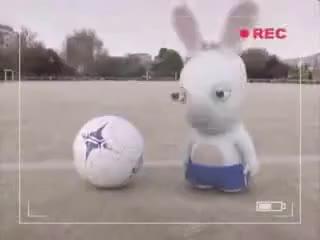 Watch raving-rabbid-soccer GIF on Gfycat. Discover more Raving Rabbids GIFs on Gfycat