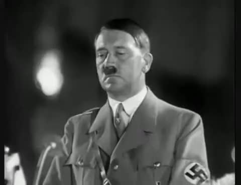 Watch Adolf Hitler - speech (English Subtitles). GIF on Gfycat. Discover more related GIFs on Gfycat