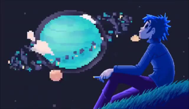 Watch and share Gorillaz Andromeda - 8 Bit Universe (Visual) GIFs on Gfycat