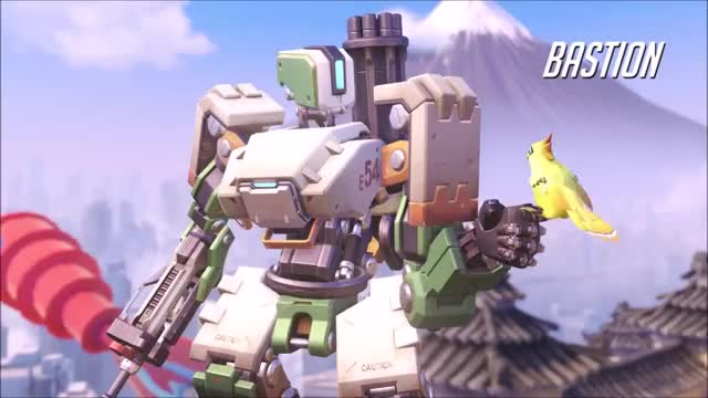 Watch Bastion GIF by @overwatchpt on Gfycat. Discover more overwatch GIFs on Gfycat