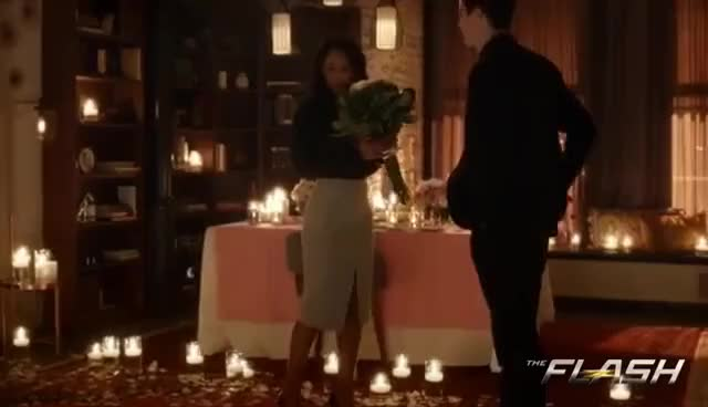 Watch The Flash 3x14 - Barry Proposes to Iris GIF on Gfycat. Discover more related GIFs on Gfycat