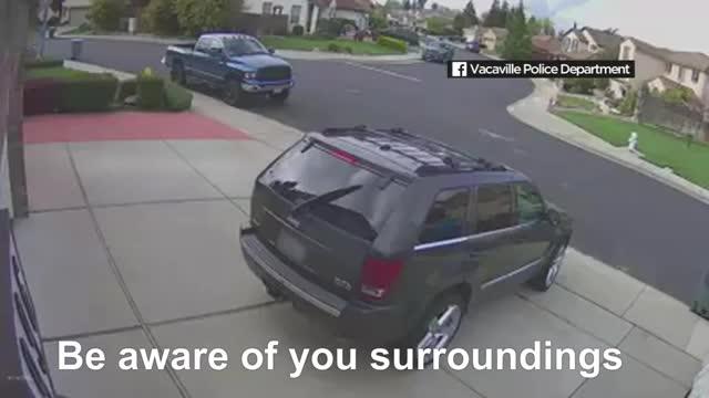 Watch and share Abc7 News Bay Area GIFs and Car Follows Girl GIFs on Gfycat