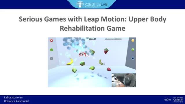 Seroius Games Leap Motion Upper body rehabilitation