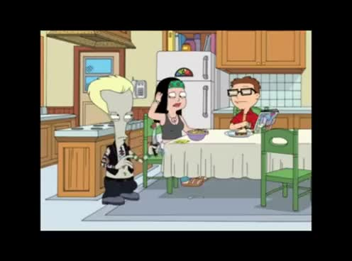 Watch and share American Dad - Roger Als Valik GIFs on Gfycat