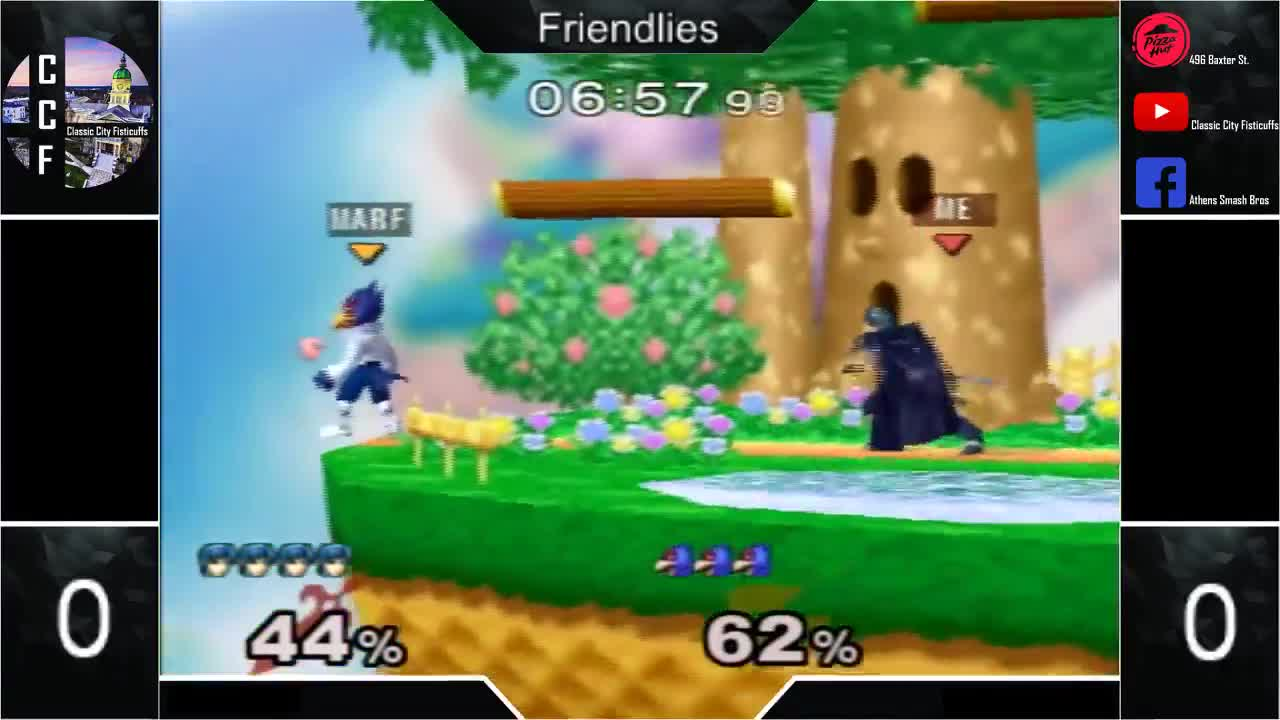 CCF, City, Classic, Fisticuffs, Melee, September, singles, ssbm, Late uair GIFs