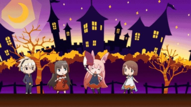 animegifs, Chibis Dancing! [Mondaiji-tachi ga Isekai kara Kuru Sou Desu yo?] (reddit) GIFs