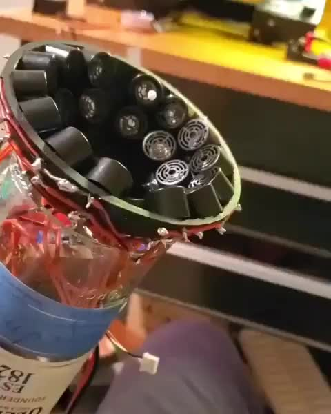 Watch and share Acoustic Levitator GIFs by Boojibs on Gfycat