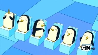 applause, clap, clapping, penguin, penguins, respect, slow clap, Penguins Clapping GIFs