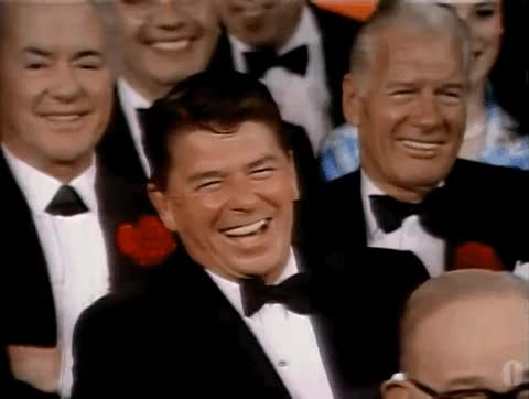 Watch and share Ronald Reagan GIFs on Gfycat