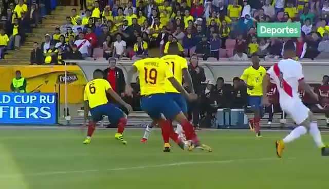 Watch Ecuador 1 - 2 Perú GIF on Gfycat. Discover more related GIFs on Gfycat