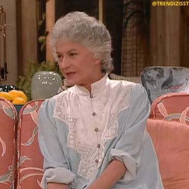 Watch and share Beatrice Arthur GIFs and Golden Girls GIFs by Trendizisst on Gfycat
