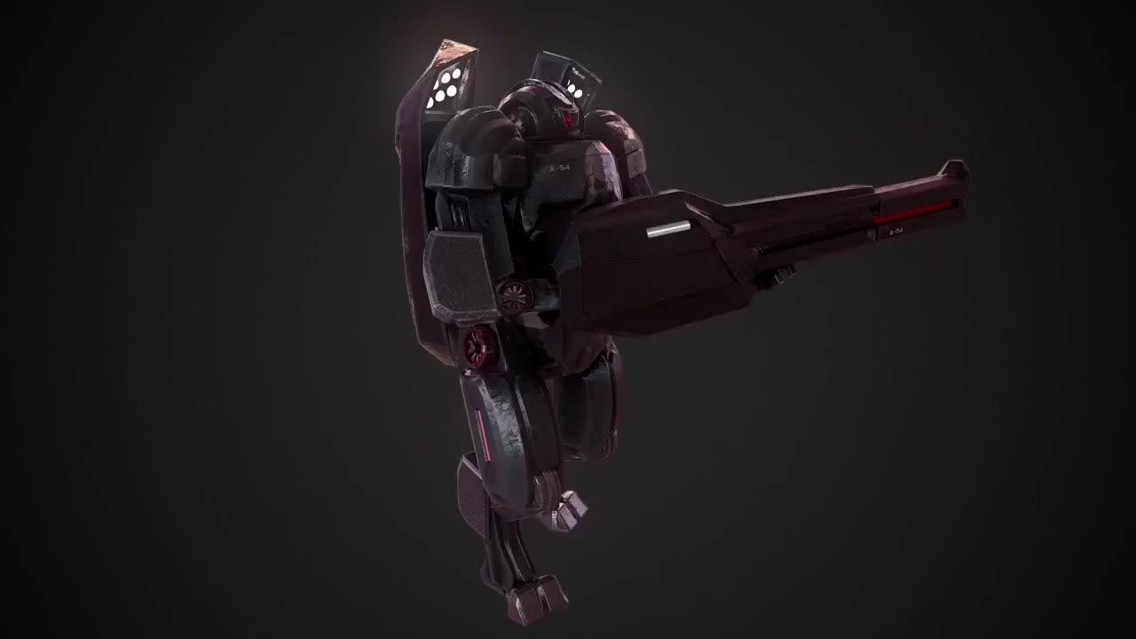 action, fps, mmo, multiplayer, online, sandbox, simulator, space, squadron42, star, starcitizen, Star Citizen: Titan Suit - Fanmade by Ruben 3DGames GIFs