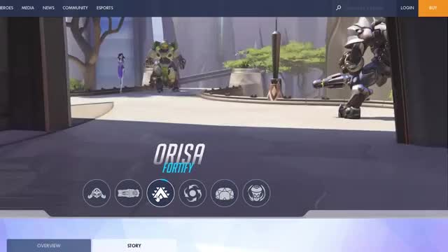 Watch Orisa GIF on Gfycat. Discover more related GIFs on Gfycat