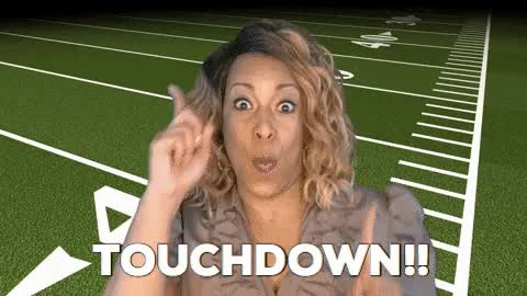 Watch and share Touchdown GIFs by Holly Logan on Gfycat