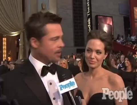 Watch and share Angelina Jolie GIFs and Brad Pitt GIFs on Gfycat