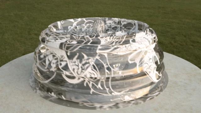 Haikuwoot, haikuwoot, Swirly Painted Glass GIFs