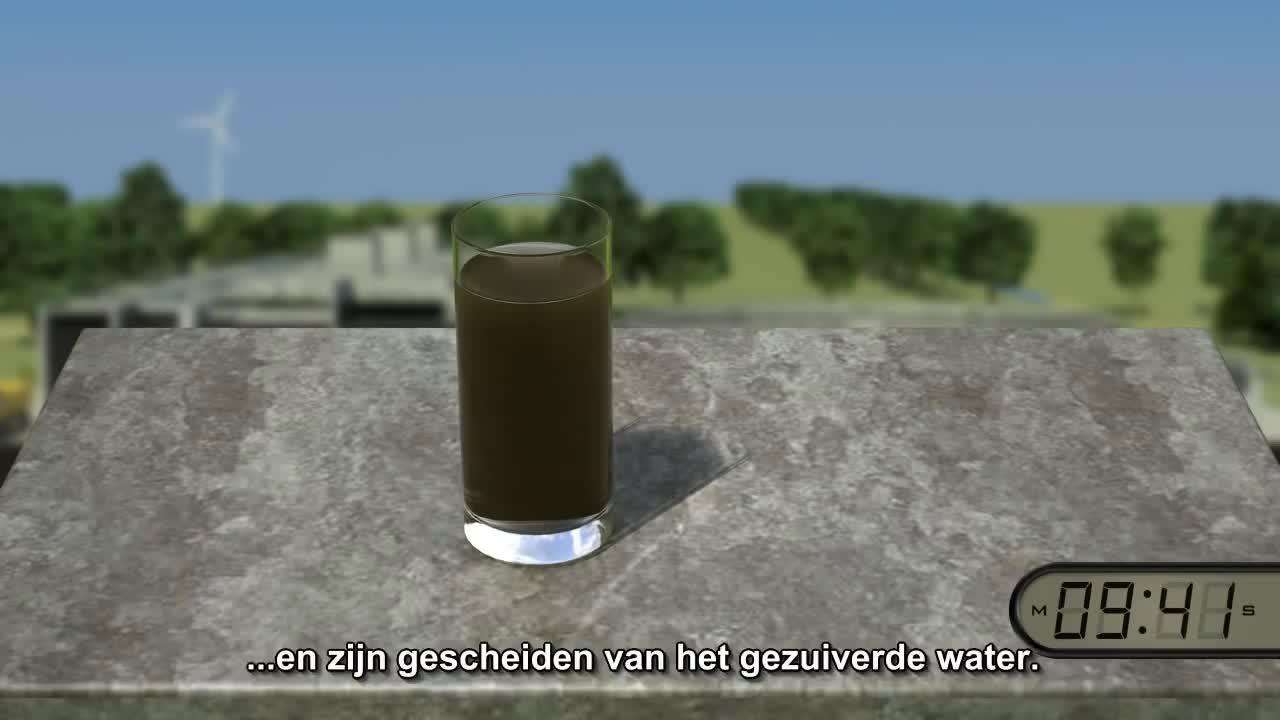 animatie, dhv, nereda, waterzuivering, Animatie DHV Nereda (NL) GIFs