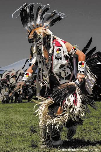 Watch and share ~ Chief Crowfoot, Siksika (1825-1890)~ Oroville Pow Wow~ George RedHawk Photo Motion Effects GIFs on Gfycat