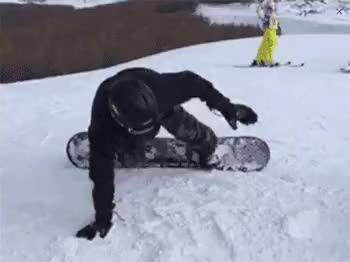 Watch and share Snowboarding GIFs on Gfycat