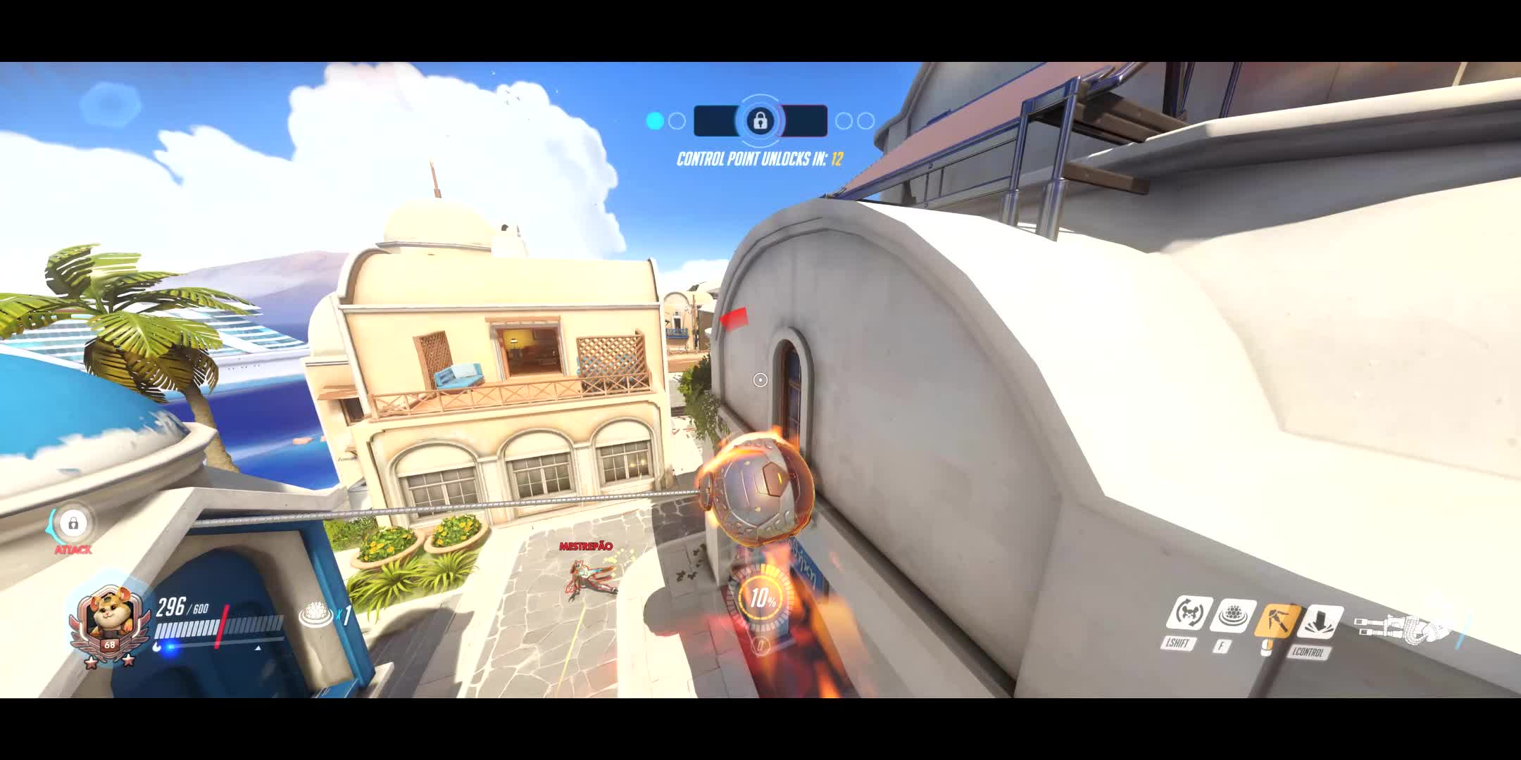 MileyCyrus, OW, Overwatch, WreckingBall, What game is this?? GIFs