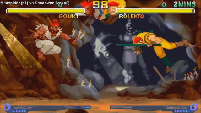 HD] - Fightcade - Street Fighter Alpha 2 - Maxspider(BRA) Vs