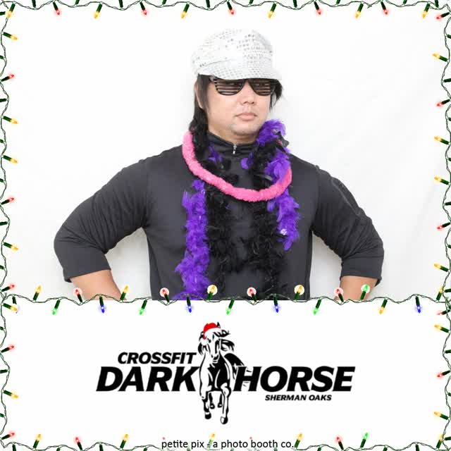 Watch and share Petite Pix Mid Century Modern Photo Booth At The Holiday Party Of Dark Horse Crossfit GIFs on Gfycat