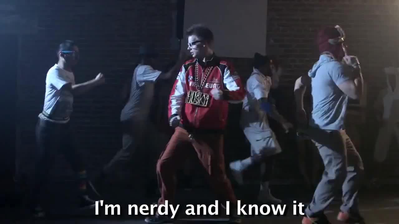 Husky, kurt, nerdyandquirky, Nerd Alert   Nerdy and I Know It GIFs