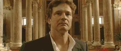 Watch and share Colin Firth GIFs and Genova GIFs on Gfycat