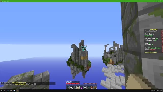Watch and share Minecraft Sky Wars Bait GIFs by dragon7076 on Gfycat