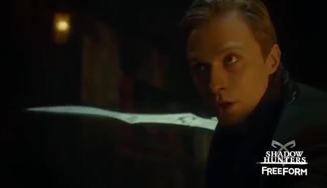 Watch Shadowhunters 2x11 Clip #1 | Sebastian rescues Izzy GIF on Gfycat. Discover more related GIFs on Gfycat