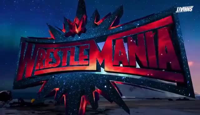 Watch and share WrestleMania 33 - Logo Animation | By @livinns GIFs on Gfycat
