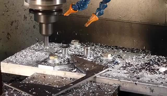 Watch and share CNC Machine Tool Endmill Crash Oops (wait For It) GIFs on Gfycat