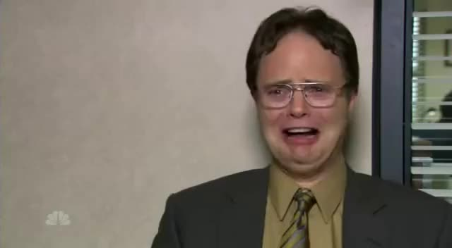 Watch and share Dwight GIFs and Cries GIFs on Gfycat