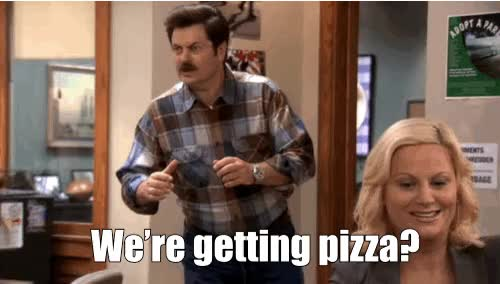 Watch this pizza GIF on Gfycat. Discover more nick offerman GIFs on Gfycat