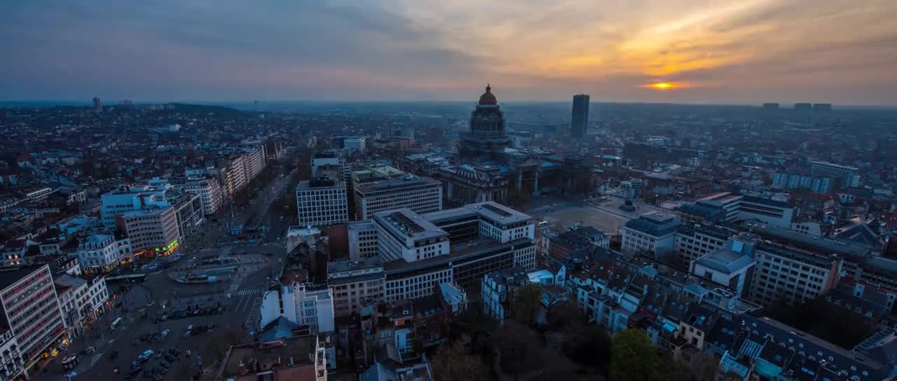 belgium, brussels, drone, expedia, hyperlapse, Travel Brussels in a Minute - Aerial Drone Video | Expedia GIFs