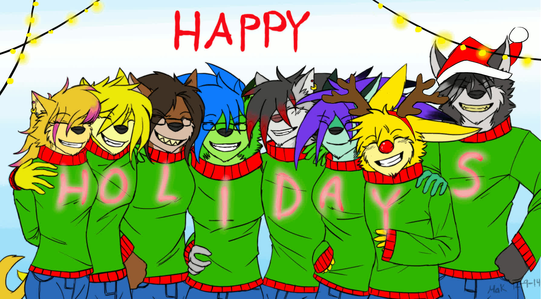 happy holidays, holidays, DON: Happy Holidays (gif) by MakTheHedge01 GIFs