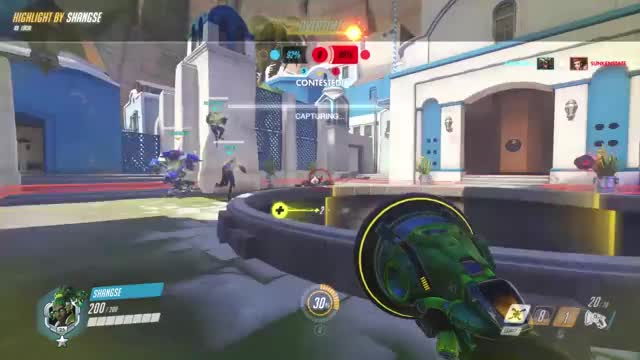 Watch and share Highlight GIFs and Overwatch GIFs by shangse on Gfycat