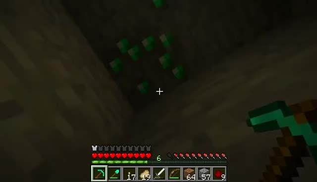 Emerald, Minecraft, videogames, Emerald Minecraft GIFs