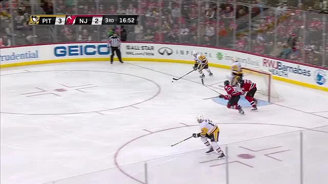 Watch Hagelin blasts a breakaway goal GIF by @naked_as_a_jaybird on Gfycat. Discover more hockey, penguins GIFs on Gfycat