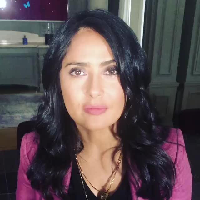 celebs, salma hayek, salmahayek 2018-09-19 06:29:45.026 GIFs