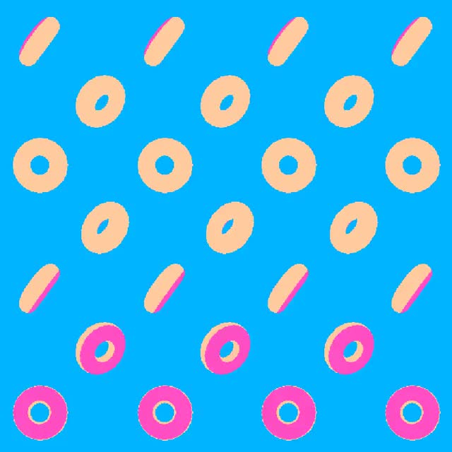 Watch and share Art Animation Pixel Doughnut GIFs on Gfycat