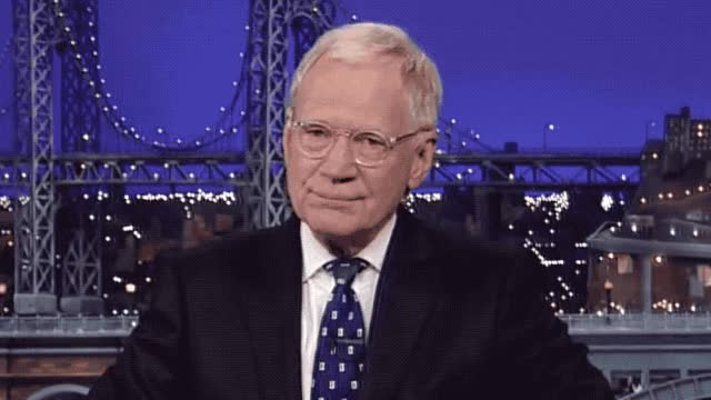 Watch and share David Letterman GIFs and Thanks GIFs by Reactions on Gfycat