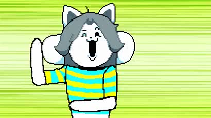 Watch and share Baka To Temmie GIFs on Gfycat