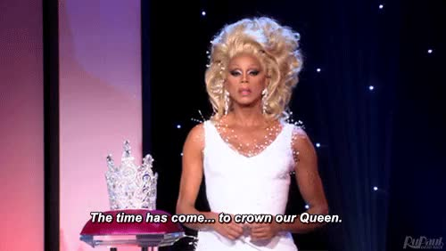 Watch crowned GIF on Gfycat. Discover more rupaul GIFs on Gfycat