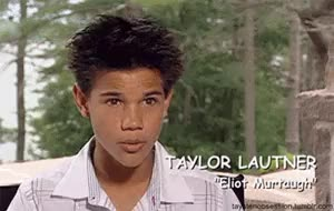 Watch and share Eliot Murtaugh GIFs and Taylor Lautner GIFs on Gfycat