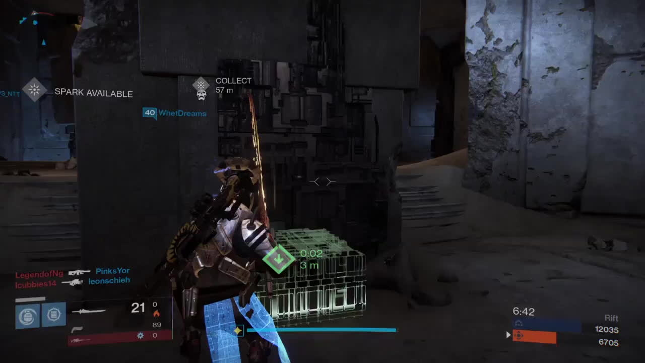 DestinyTheGame, And he sticks the landing! First time doing something remotely interesting with a sword in PvP (reddit) GIFs