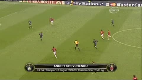 Watch and share Andriy Shevchenko. Inter - Milan. CL 2004-05 GIFs by fatalali on Gfycat