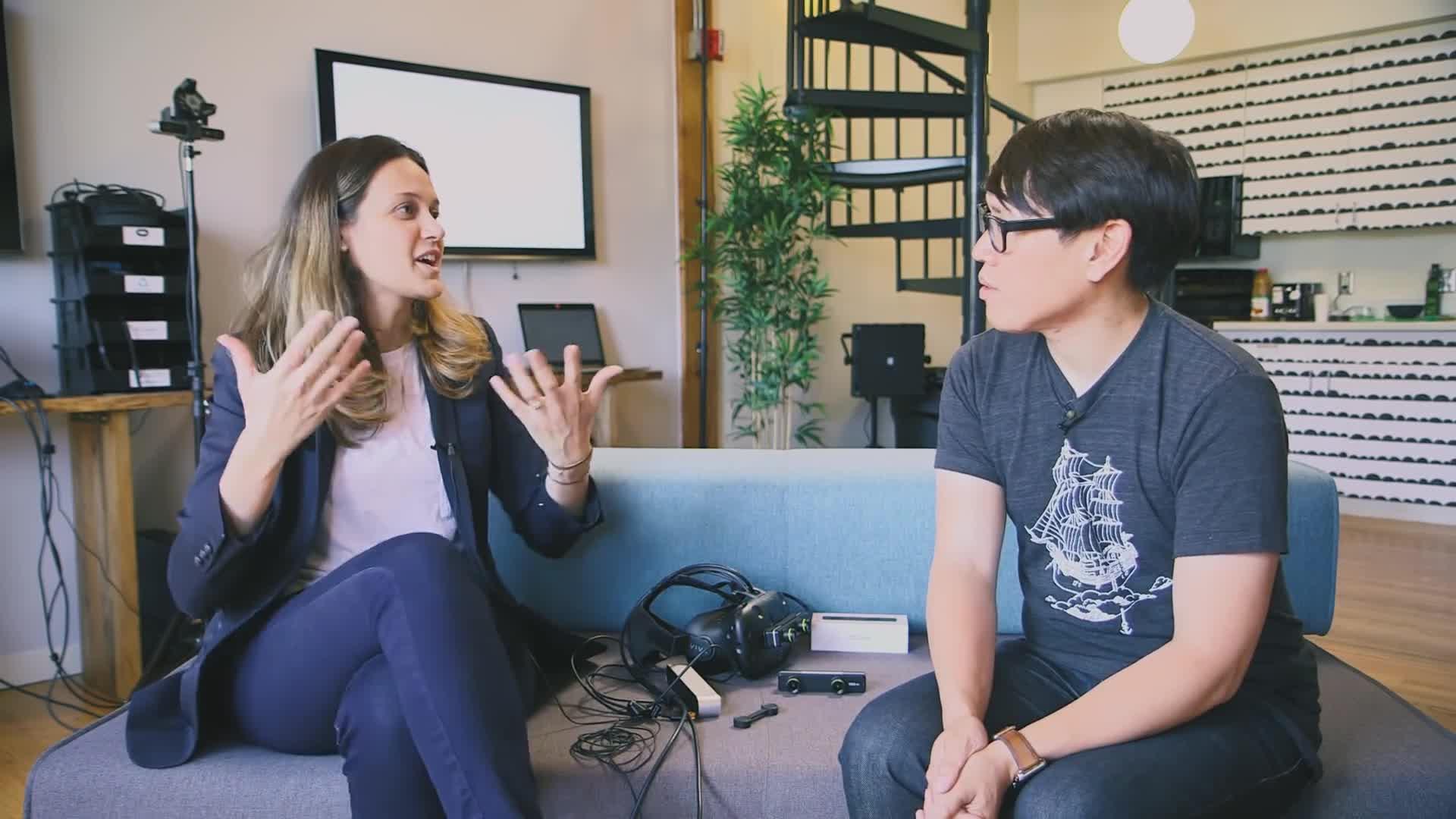 ZED Mini, ladiesinsuits, tested, testedcom, virtual reality, Cecile Schmollgruber talks the ZED Mini Mixed-Reality Camera! GIFs
